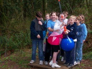 Elementary Retreat at Lutherwood - Ropes Course