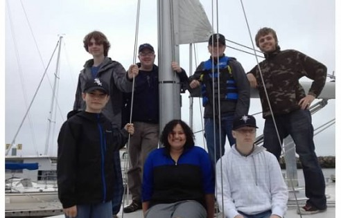 youth sailing 2013